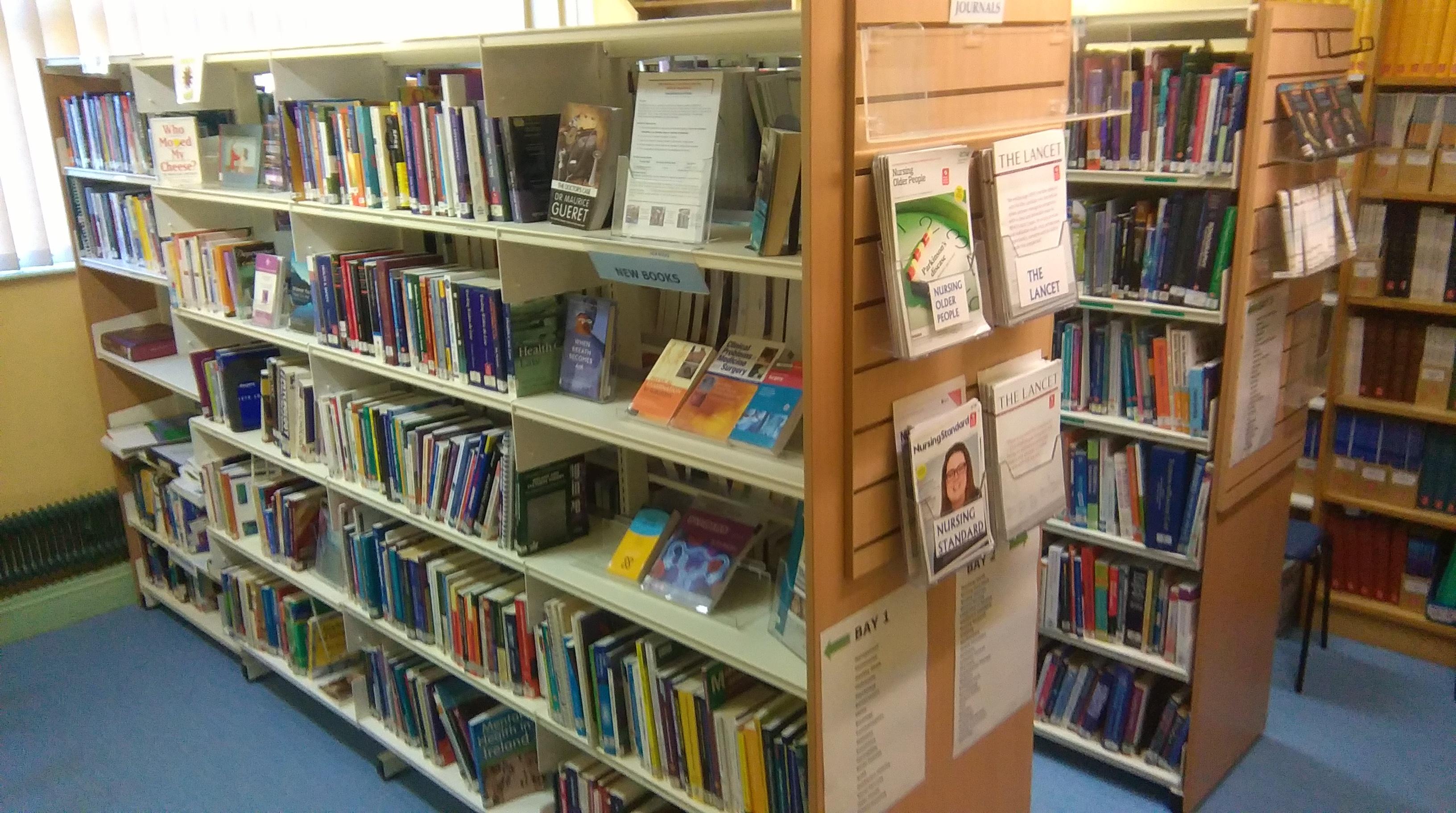 Book Collection, library, Regional hospital Mullingar