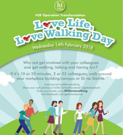 Love life love walking day 2018