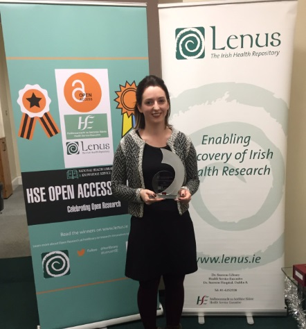 HSE Open Access Research Awards overall Winner 2018