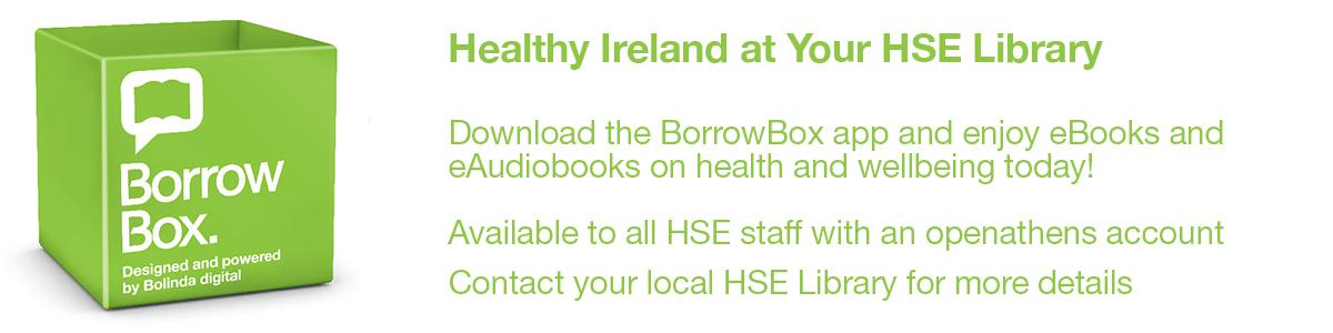BorrowBox Healthy Ireland at your HSE Library