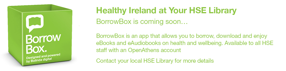 BorrowBox Healthy Ireland at your HSE Library