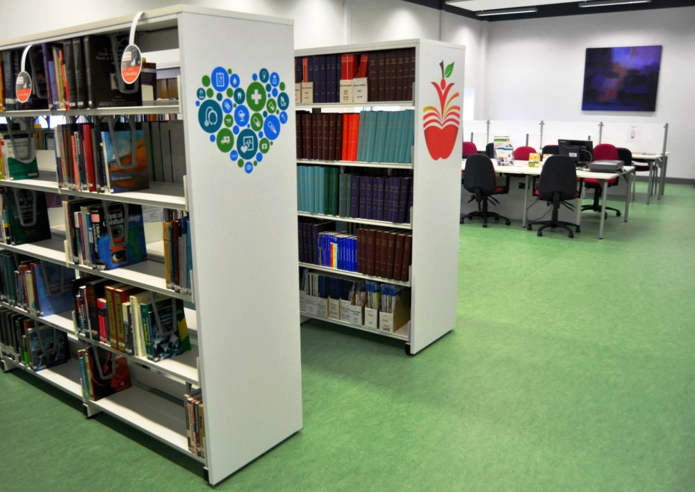 Library, Midland Regional Hospital, Tullamore, Co. Offaly. Books, PCs and Study Space Image
