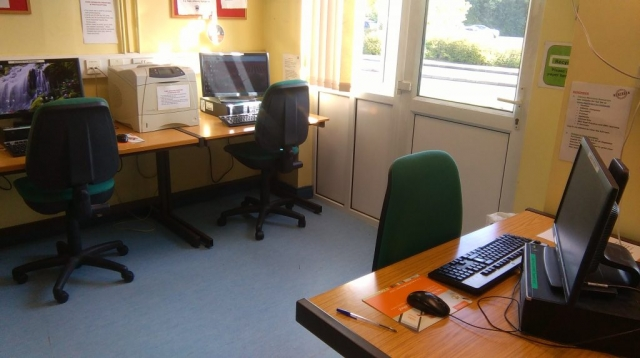 PCs available in library, regional hospital Mullingar